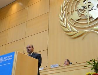 Argentina presidió una reunión de la OMS en Ginebra