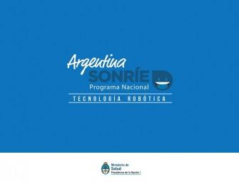 Se lanzó el plan Argentina Sonríe