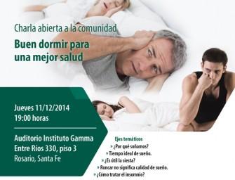 Buen dormir para una mejor salud