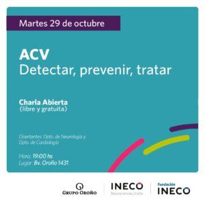 Charla INECO ACV