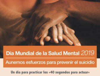 El Día Mundial de la Salud Mental 2019: prevención del suicidio