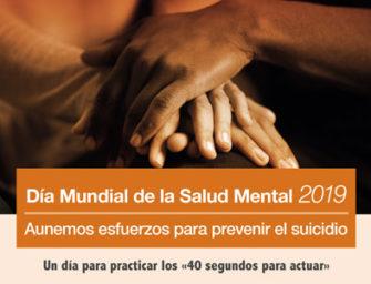 10 de octubre: Día Mundial de la Salud Mental 2019