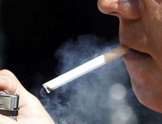 El consumo de tabaco podría estar reduciéndose entre los hombres