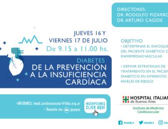 Diabetes: De la Prevención a la Insuficiencia Cardíaca